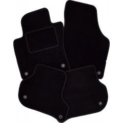 Textilní autokoberce na míru Royalfit - Velur extra, barva černá