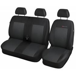 Autopotahy na Toyota Proace, do r. 2016, Lux style barva černá