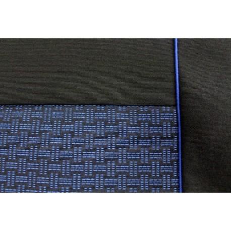 Autopotahy na míru Luxor, model Ponza, barva modrá
