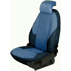 Autopotahy na míru, model UNIQUE, barva černá/modrá