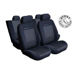 Autopotahy na Audi A4, B8 od roku 2008 - 2015, standartní sedadla, Lux style barva černá
