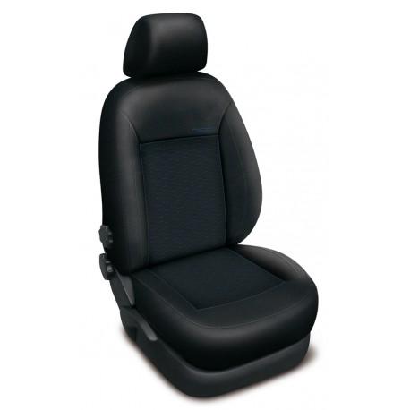 Autopotahy Authentic Premium Žakar na Ford Fusion se stolkem u spolujezdce, od roku 2002, barva Žakar modrá 0490