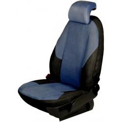Autopotahy na míru, model UNIQUE, barva černá/modrá, VW New Beetle 2005 - 2011