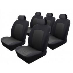 Autopotahy na Citroen C8, 5 míst, od roku 2002 - 2014, Dynamic Žakar tmavý