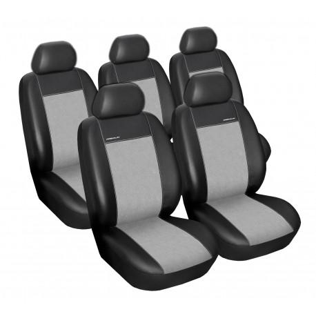 Autopotahy na Citroen Xsara Picasso, 5 míst, Eco Lux barva šedá/černá 0256