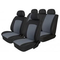 Autopotahy na Škoda Octavia II., dělená zadní sedadla, Dynamic šedé