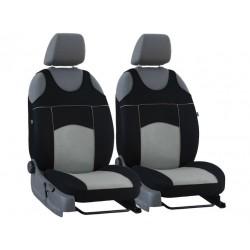 Autopotahy na přední sedadla Tuning Extreme Alcantara, barva šedá