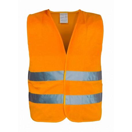 Vesta výstražná, velikost XXL, oranžová EN 20471:2013