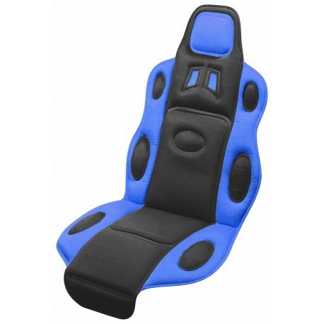 Potah sedadla Sport Race, barva modrá