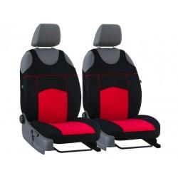 Autopotahy na přední sedadla Tuning Extreme Alcantara, barva červená
