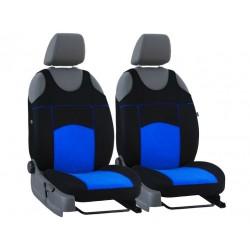 Autopotahy na přední sedadla Tuning Extreme Alcantara, barva modrá