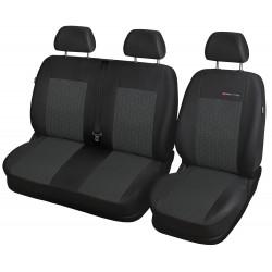 Autopotahy na Iveco Daily, 3 místa, od roku 2014, bez stolku, Lux style barva antracit