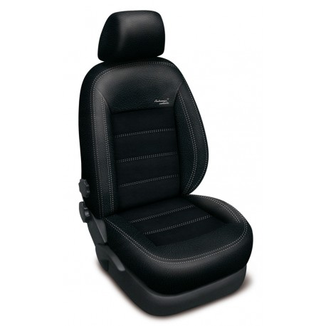 Autopotahy na Ford Mondeo IV., od r.2007 - 2014, Authentic Velvet, barva velvet černá 0553