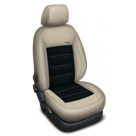 Autopotahy na Ford Mondeo IV., od r.2007 - 2014, Authentic Velvet III., barva velvet béžová béžová/černá 0555
