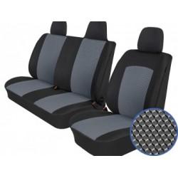 Autopotahy na Opel Movano B, od r. 2010, 3 místa, Dynamic šedé