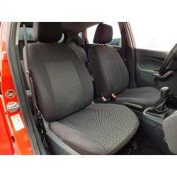 Autopotahy na Peugeot Bipper, od r. 2008, 2 místa, Dynamic Žakar tmavý