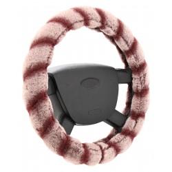 Potah volantu Lemur, barva růžová