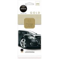 Osvěžovač vzduchu AROMA CAR PRESTIGE CARD GOLD