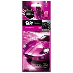Osvěžovač zduchu AROMA CAR CITY BUBBLE GUM