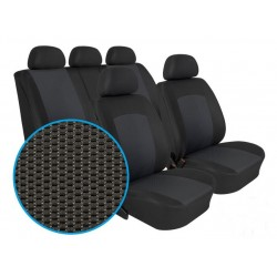 Autopotahy na Seat Leon, od r. 1999 - 2005, 5 dvéř, sportovní sedadla, Dynamic Grafit