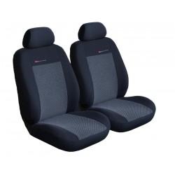 Autopotahy na Smart For Two, od roku 1998 - 2007, Lux style barva šedo černá