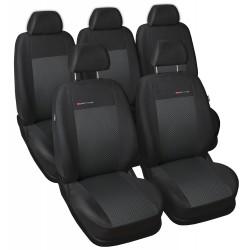 Autopotahy na Toyota Corolla Verso, od r. 2004 - 2009, Lux style barva černá
