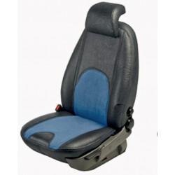 Autopotahy na míru, model Vittoria, barva černá/modrá