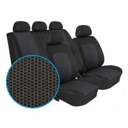 Autopotahy na Volkswagen Polo IV., 5 dvéř, nedělená zadní sedadla, od r. 2002 - 2009, Dynamic Grafit