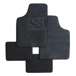 Textilní autokoberce univerzální Napoli, barva černá