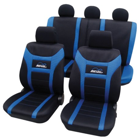 Univerzální autopotahy Super Speed, barva modrá