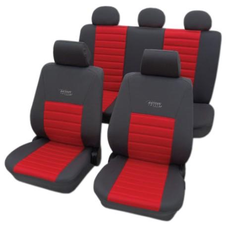 Univerzální autopotahy Active Sport, barva červená