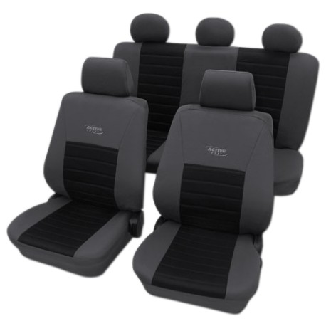 Univerzální autopotahy Active Sport, barva černá