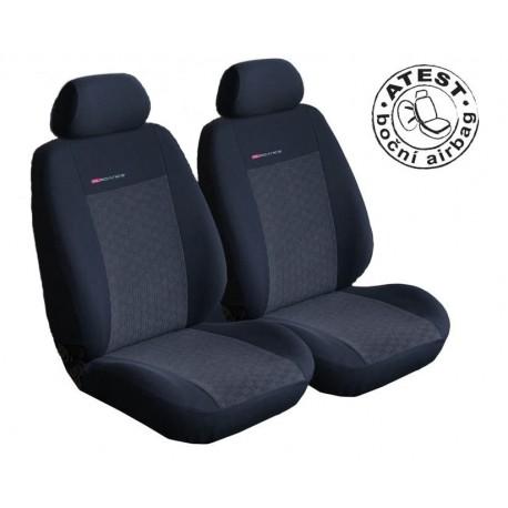 Autopotahy na přední sedadla Lux Style, barva antracit