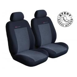 Autopotahy na přední sedadla Lux Style, barva šedo černá