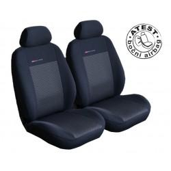 Autopotahy na přední sedadla Lux Style, barva černá