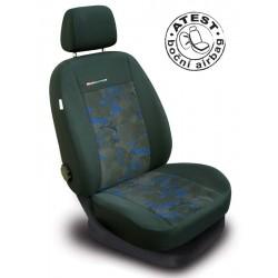Autopotahy na přední sedadla Lux Style, barva modrá