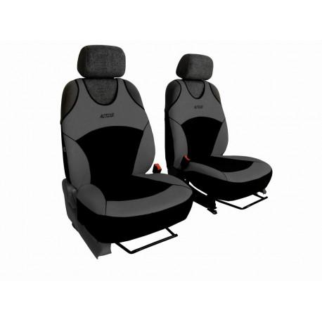 Autopotahy na přední sedadla Active Sport Alcantara, barva šedá