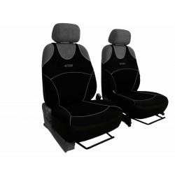 Autopotahy na přední sedadla Active Sport Alcantara, barva černá