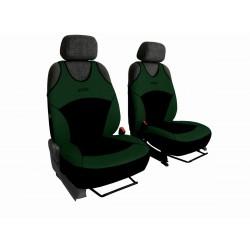 Autopotahy na přední sedadla Active Sport Alcantara, barva zelená