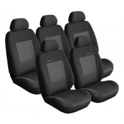 Autopotahy Lux style na Peugeot Partner II. Tepee, 5 míst, od roku 2008, barva černá