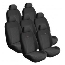 Autopotahy Lux style na Seat Alhambra II., od roku 2010, 7 míst , barva antracit