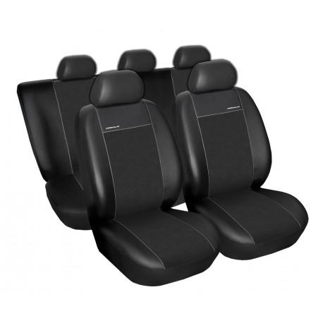 Fotografie Autopotahy na Škoda Fabia II., dělená zadní sedadla, Eco Lux barva černá 1341