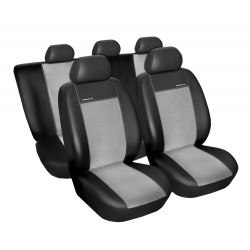 Autopotahy Eco Lux na Volkswagen Caddy III., od roku 2004, 5 míst, barva šedá/černá