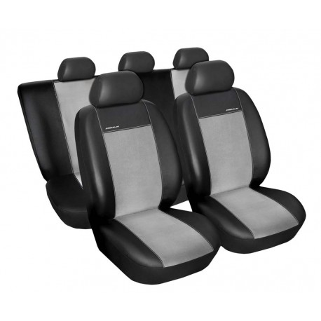Autopotahy na Volkswagen Passat B5, od r. 1996 - 2005, Eco Lux barva šedá/černá, sedan kombi Sedan 1686