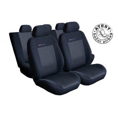 Autopotahy Lux style Alfa Romeo 159, od roku 2005 - 2011, barva černá 0019