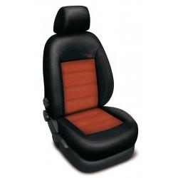 Autopotahy na Dacia Duster I., od 2010 - 2013, nedělená zadní sedadla, Authentic Velvet