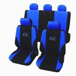 Univerzální autopotahy Turbo, barva modrá