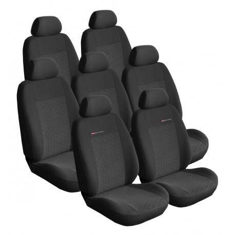 Autopotahy na Citroen C4 Grand Picasso I., 7 míst, od roku 2006 - 2013, Lux style barva antracit 0206