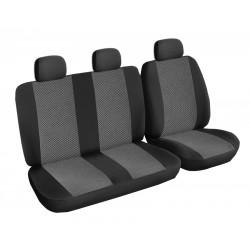 Autopotahy Lux style na Citroen Jumper I., 3 místa, od roku 1994 - 2006, barva šedo černá