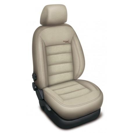 Autopotahy na Kia Sportage III., od r. 2010, Authentic Velvet III., barva velvet béžová béžová/béžová 2118